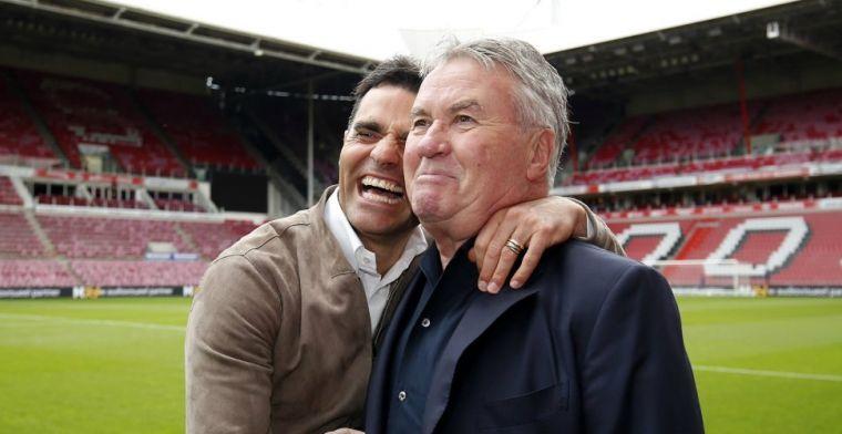 Hiddink verbijsterd: 'Lekt altijd uit en dan heb je onrust tijdens het toernooi'