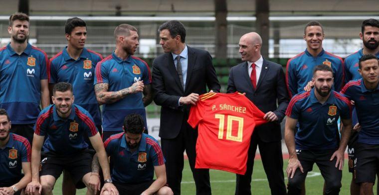 Bizar gerucht uit Spanje: Ramos botst met bondsvoorzitter, Piqué moet ingrijpen