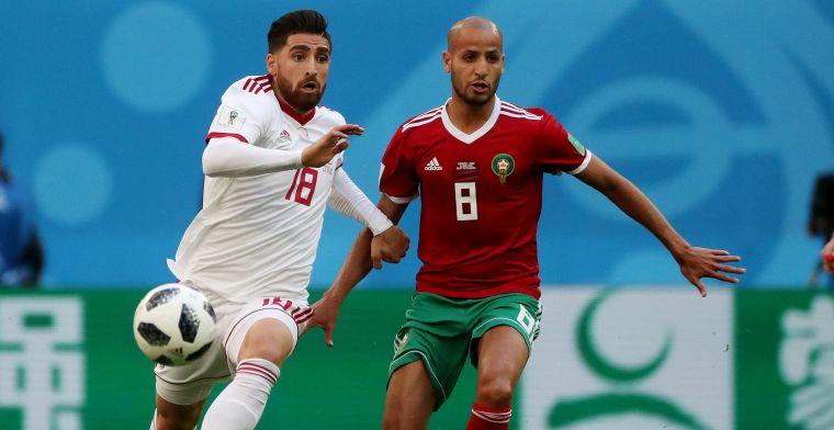 Enorme dreun voor Marokko: verlies tegen Iran na eigen doelpunt in extra tijd