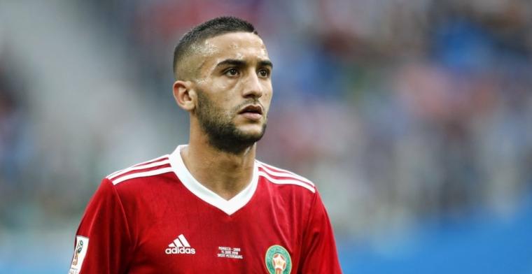 Opmerkelijk bericht: Ziyech heeft opvallend lage afkoopsom in Ajax-contract staan