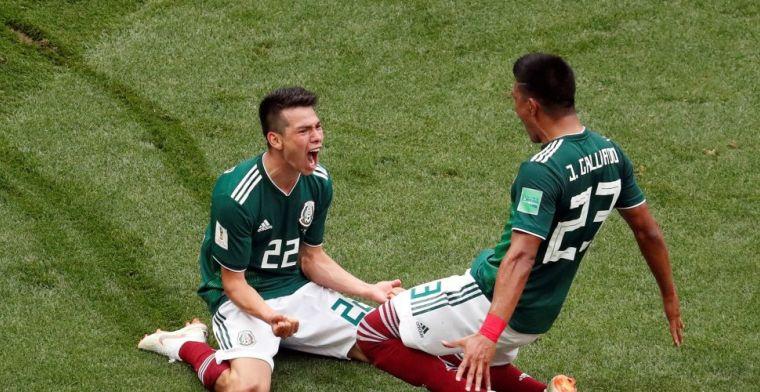 Lozano bezorgt Mexico sensationele overwinning in spektakelstuk tegen Duitsland