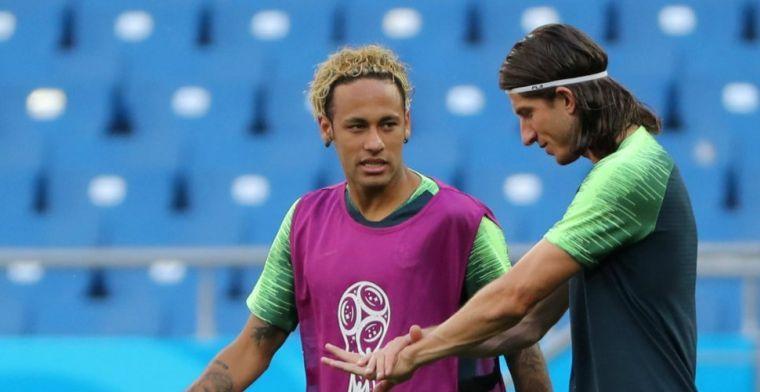 OPSTELLING: Brazilië met elftal voor supersterren tegen Zwitserland