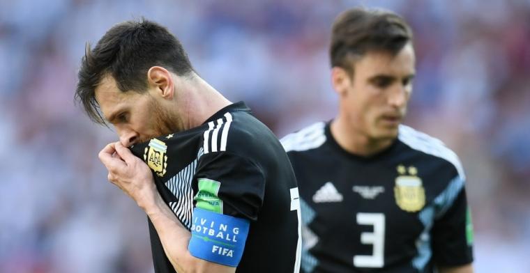 Messi hekelt tegenstand: Zij wilden helemaal niet voetballen