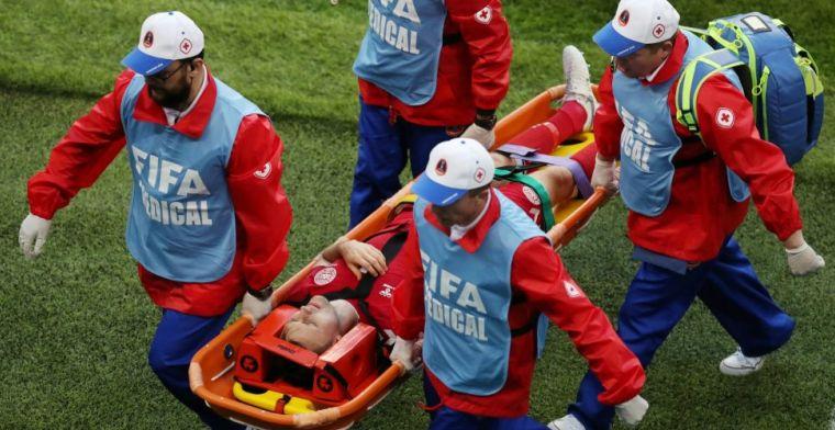 Deense dreun: einde WK voor basiskracht na knietje van Farfán
