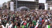 Imagen: VÍDEO | La locura que se vivió en Ciudad de México con el gol de Lozano