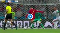 Imagen: VÍDEO | Lo que realmente pasó: Un coche golpea el balón en el fallo de De Gea