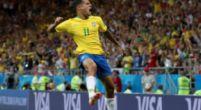 Imagen: OFICIAL | Philippe Coutinho fue lo más destacado del empate de Brasil