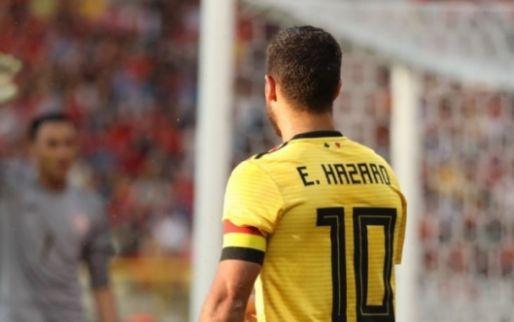 Imagen: OFICIAL l Los XI de Bélgica y Panamá en su debut