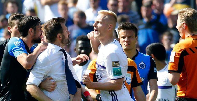 'Club Brugge wordt niet gestraft na incidenten tegen Anderlecht'