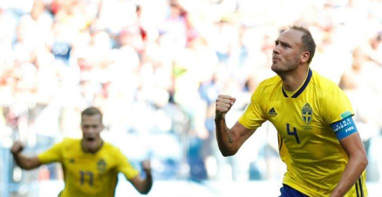 Zweden wint door VAR en benutte penalty Granqvist van pover Zuid-Korea