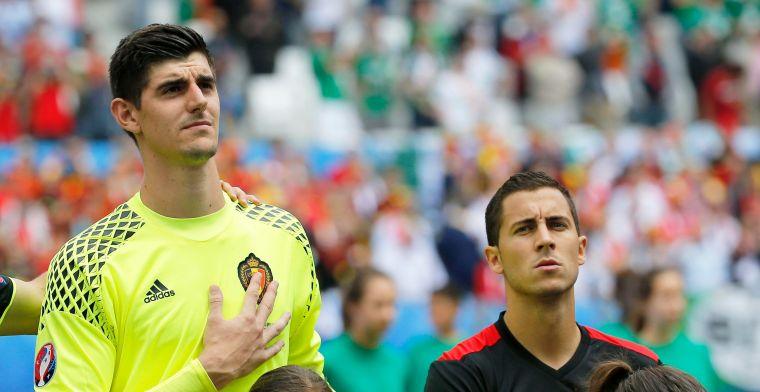 Chelsea wenst haar Belgen succes in WK-queeste ... Of toch twee van de drie