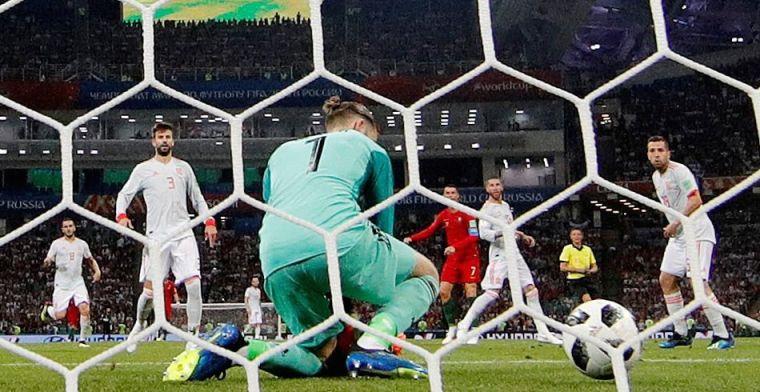 Kepa sale en defensa de De Gea tras sus fallos ante Portugal
