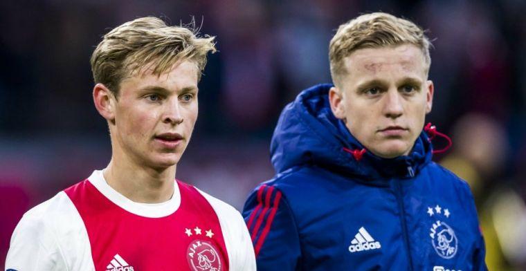 De Jong reageert op Barça-gerucht: 'Eerst kijken of ik nog beetje kan voetballen'