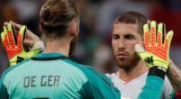 Imagen: Hierro asegura la titularidad de De Gea ante la selección de Irán