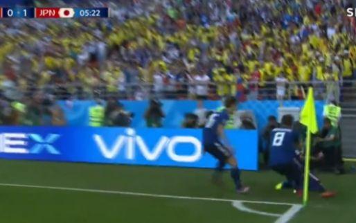 Drama bij Colombia-Japan: rode kaart, penalty en goal binnen enkele minuten