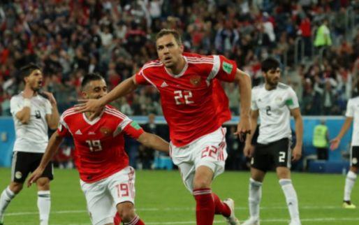 Rusland stunt weer en is zo goed als zeker van de achtste finales