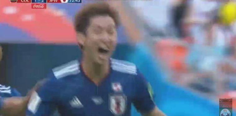VÍDEO | Osako pone por delante a Japón ante Colombia