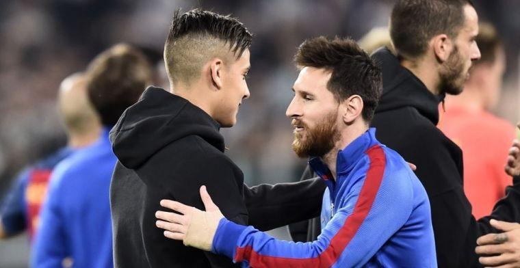 Paulo Dybala: Pienso que Messi y yo podemos jugar juntos