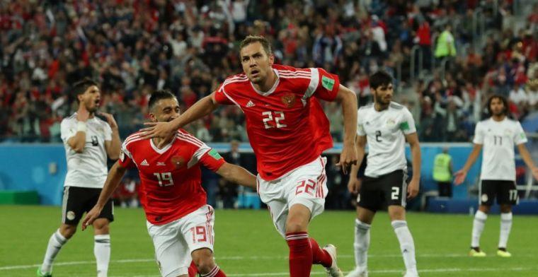 Rusland legt ook Egypte op de pijnbank en ruikt de tweede ronde