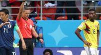 Imagen: Llega la primera expulsión del Mundial; 'La Roca' Sánchez ve la roja directa
