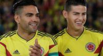 Imagen: OFICIAL l El once de Colombia y Japón con James Rodríguez en el banco