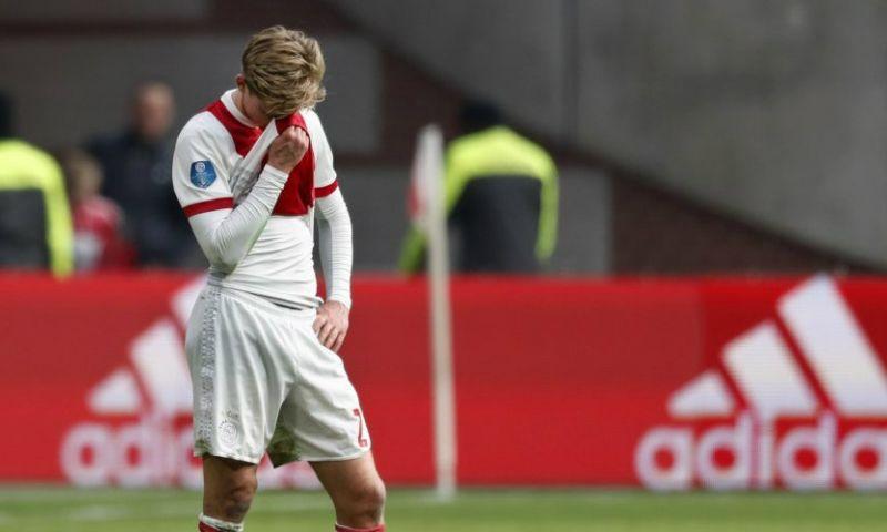 Afbeelding: Blessurenieuws bij Ajax: rentree De Jong laat voorlopig op zich wachten