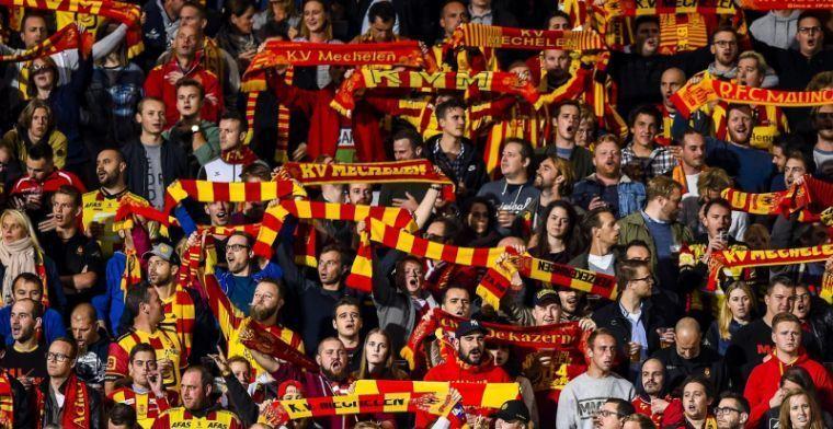 Mechelen komt met schrik vrij tegen amateurs na cadeau van de ref in slot