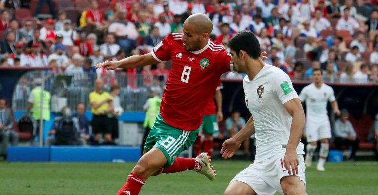 LIVE: Marokko komt rappe tegengoal niet te boven en kan bijna naar huis (gesloten)