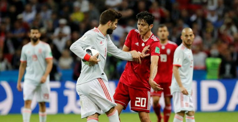 Spanje slaat irriterend Iran van zich af en doet uitstekende zaken in groep B