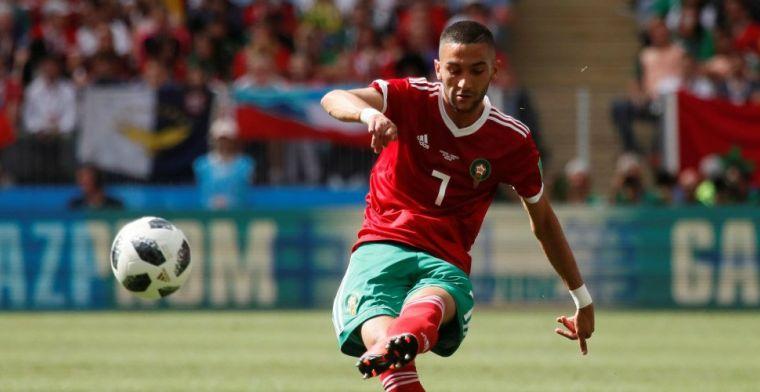 Marokko-aanvoerder duwt Ziyech richting 'speciale' club: Hij is ongelooflijk