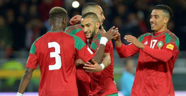 Ziyech over besprekingen Marokko: 'Renard staat echt te schreeuwen in kleedlokaal'