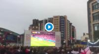 Imagen: VÍDEO | La locura que se vivió en las calles de Inglaterra tras el segundo de Kane
