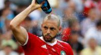 """Imagen: Amrabat apunta al árbitro: """"Estaba impresionado con Cristiano"""""""