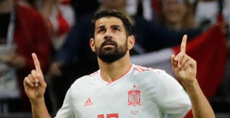 Diego Costa se quejó de la actitud de los jugadores de Irán