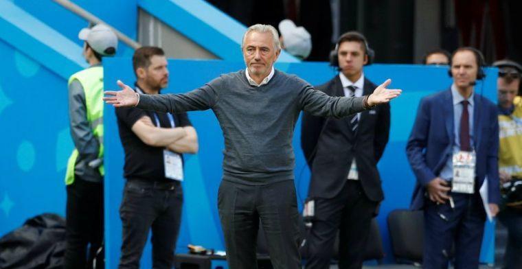 Van Marwijk blijft geloven in achtste finale: 'Reclame voor Australië'