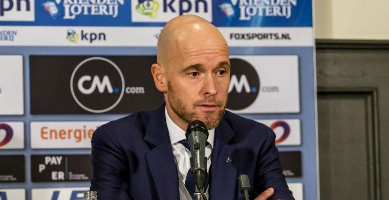 Ten Hag: 'Ik heb keiharde garanties gekregen van de leiding van Ajax'