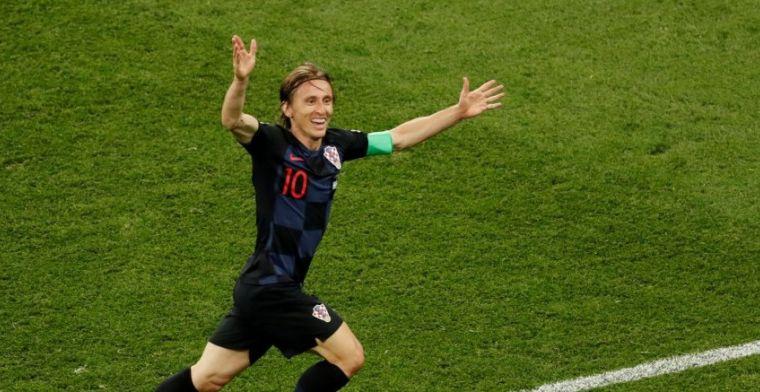 Modric: 'We speelden perfect, maar na die fout ging het alleen maar beter lopen'