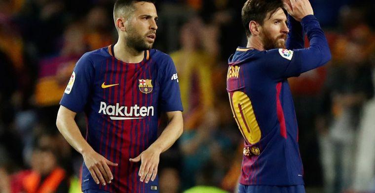 Jordi Alba reitera su amor por el Barça ante el interés del Tottenham