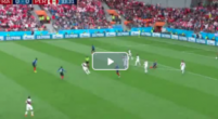 Imagen: GOL l Francia abre el marcador con un Mbappé de récord