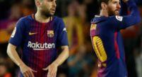 Imagen: Jordi Alba reitera su amor por el Barça ante el interés del Tottenham