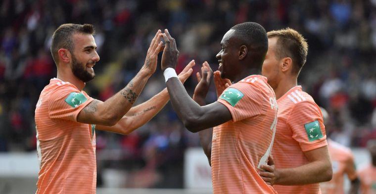 Anderlecht ontsnapt aan gelijkspel tegen RWDM na late treffer van Dimata