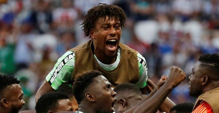 Nigeria bewijst Argentinië een dienst en blijft in de race voor de tweede ronde