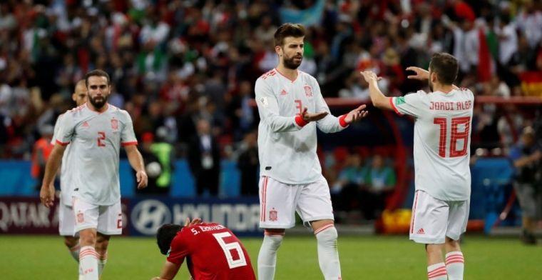 Jordi Alba: No me gustó que echaran a Lopetegui