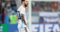 Imagen: Leo Messi fue el jugador que menos pases recibió de sus compañeros