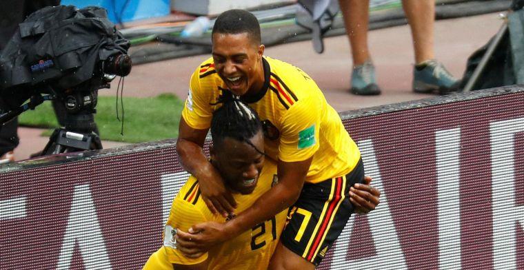 Batshuayi maakte eerste WK-doelpunt, maar: 'Mijn papa zal boos zijn'