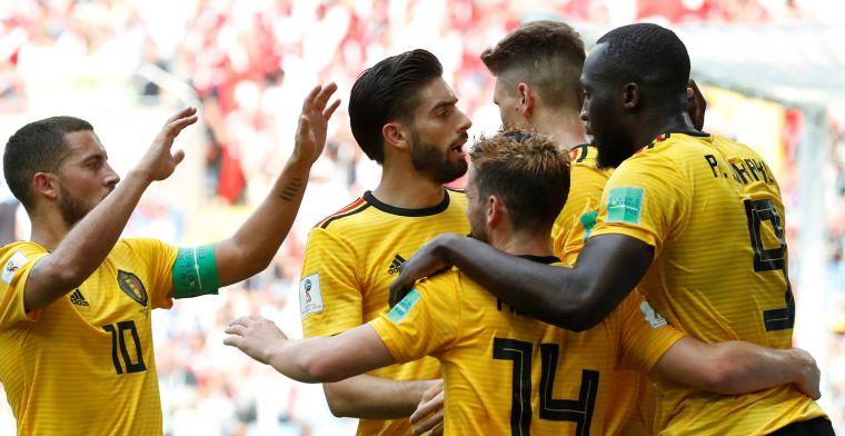 Swingend België draait warm en zet grootste uitslag van het WK neer