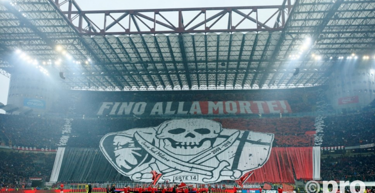 'Keiharde straf voor AC Milan: boete van 30 miljoen en geen Europees voetbal'