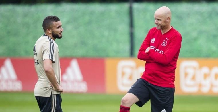 Ajax wint eerste wedstrijd van het seizoen: Labyad, Bandé en Schuurs in actie