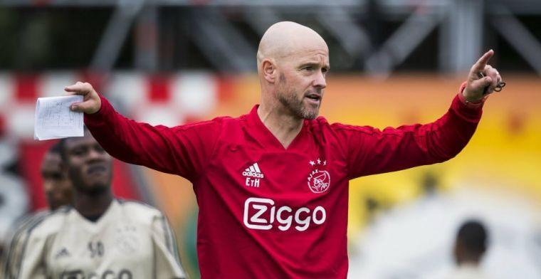 Ten Hag baalt van Kluivert-deal: 'Beter na twee, drie volwaardige seizoenen