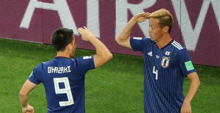 Senegal en Japan op koers voor achtste finales na late treffer van Honda